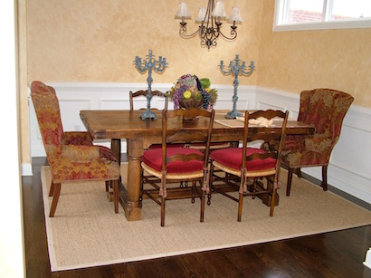 Custom Recovered Dining Chairs