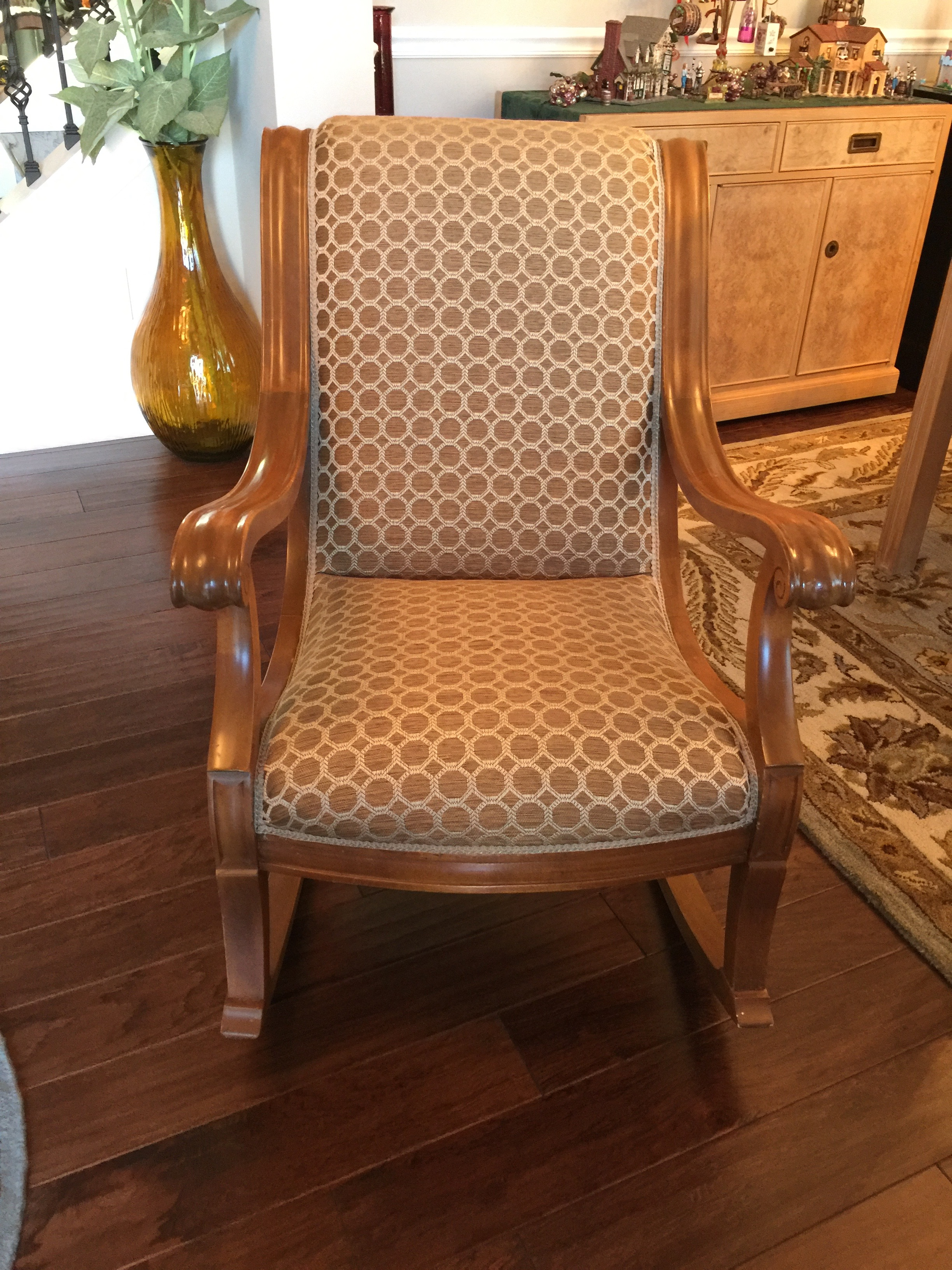 rocking chair recovered